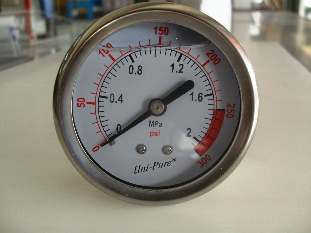 Pressure Guage เกจ์วัดแรงดัน 0-300 PSI Stainless