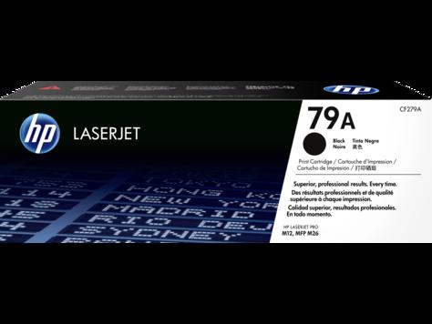 HP 79A ตลับหมึกโทนเนอร์ สีดำ ของแท้ Black Original Toner Cartridge (CF279A)