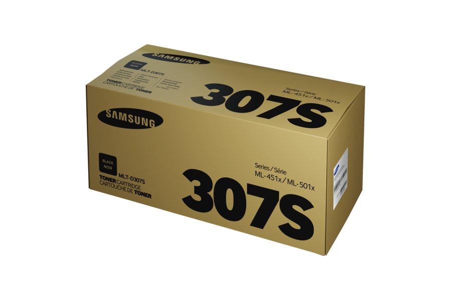 Samsung MLT-D307S ตลับหมึกโทนเนอร์ สีดำ ของแท้ Black Original Toner Cartridge (SV075A)