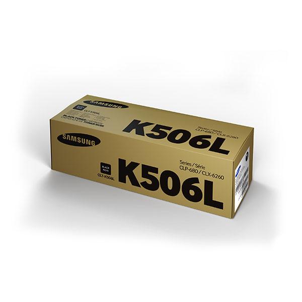 Samsung CLT-K506L ตลับหมึกโทนเนอร์ สีดำ ของแท้ Black Original Toner Cartridge (SU173A)