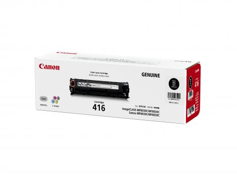 Canon Cartridge-416BK ตลับหมึกโทนเนอร์ สีดำ Black Original Toner Cartridge