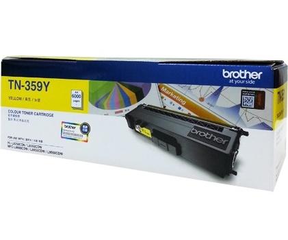Brother TN-359Y ตลับหมึกโทนเนอร์ สีเหลือง ของแท้ Yellow Original Toner Cartridge