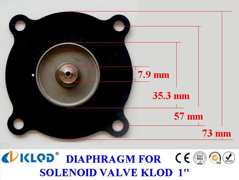 ยาง Diaphragm solenoid KLOD 1 นิ้ว