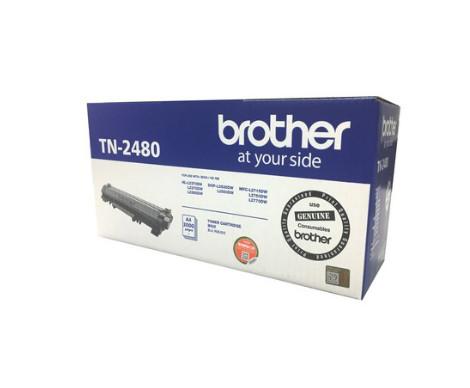 Brother TN-2480 ตลับหมึกโทนเนอร์ สีดำ ของแท้ Black original toner cartridge