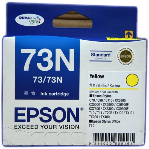 Epson T105490 (73N) ตลับหมึกอิงค์เจ็ท สีเหลือง Yellow Original Ink Cartridge