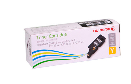 Fuji Xerox CT202267 ตลับหมึกโทนเนอร์ สีเหลือง Yellow Original Toner Cartridge