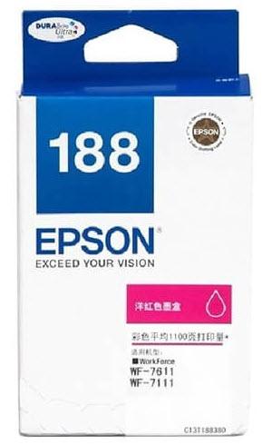 Epson T188390 (188) หมึกพิมพ์อิงค์เจ็ต สีม่วงแดง Magenta Original Ink