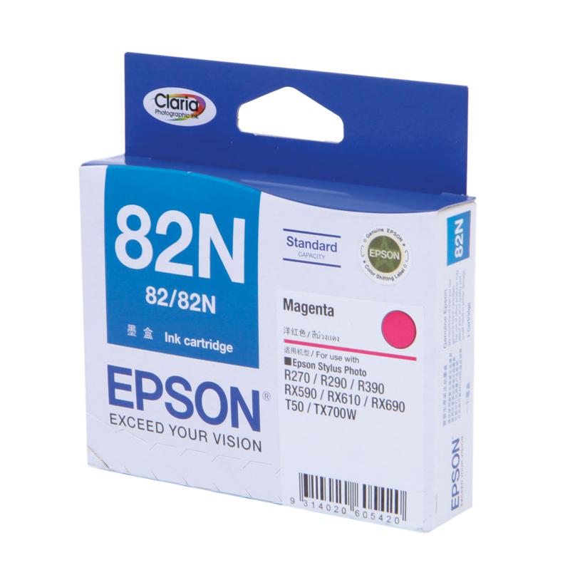 Epson T112390 (82N) หมึกพิมพ์อิงค์เจ็ต สีม่วงแดง