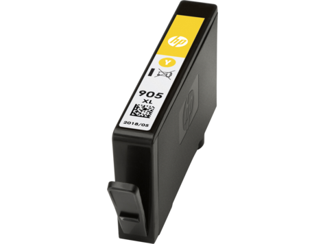 HP 905XL ตลับหมึกอิงค์เจ็ท สีเหลือง High Yield Yellow Original Ink Cartridge (T6M13AA)