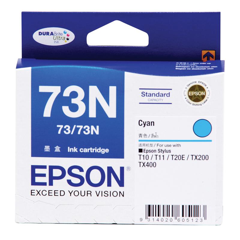 Epson T105290 (73N) ตลับหมึกอิงค์เจ็ท สีฟ้า Cyan Original Ink Cartridge