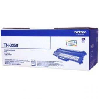 Brother TN-3350 ตลับหมึกโทนเนอร์ สีดำ Black Original LaserJet Toner Cartridge