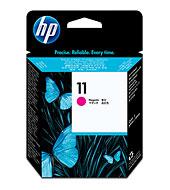 HP 11 ตลับหัวพิมพ์ สีม่วงแดง Magenta Printhead (C4812A)