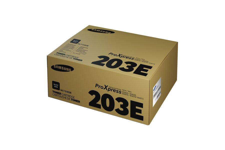 Samsung MLT-D203E ตลับหมึกโทนเนอร์ สีดำ ของแท้ Black Original Toner Cartridge (SU894A)