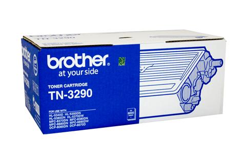 Brother TN-3290 ตลับหมึกโทนเนอร์ สีดำ Black Original LaserJet Toner Cartridge
