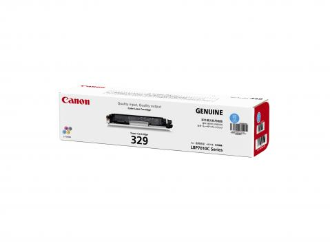 Canon Cartridge-329C ตลับหมึกโทนเนอร์ สีฟ้า Cyan Toner Original Cartridge