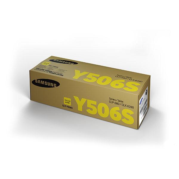 Samsung CLT-Y506S ตลับหมึกโทนเนอร์ สีเหลือง Yellow Original Toner Cartridge (SU526A)