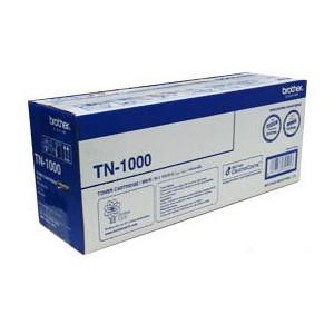 Brother TN-1000 ตลับหมึกโทนเนอร์ สีดำ ของแท้ Black original toner cartridge