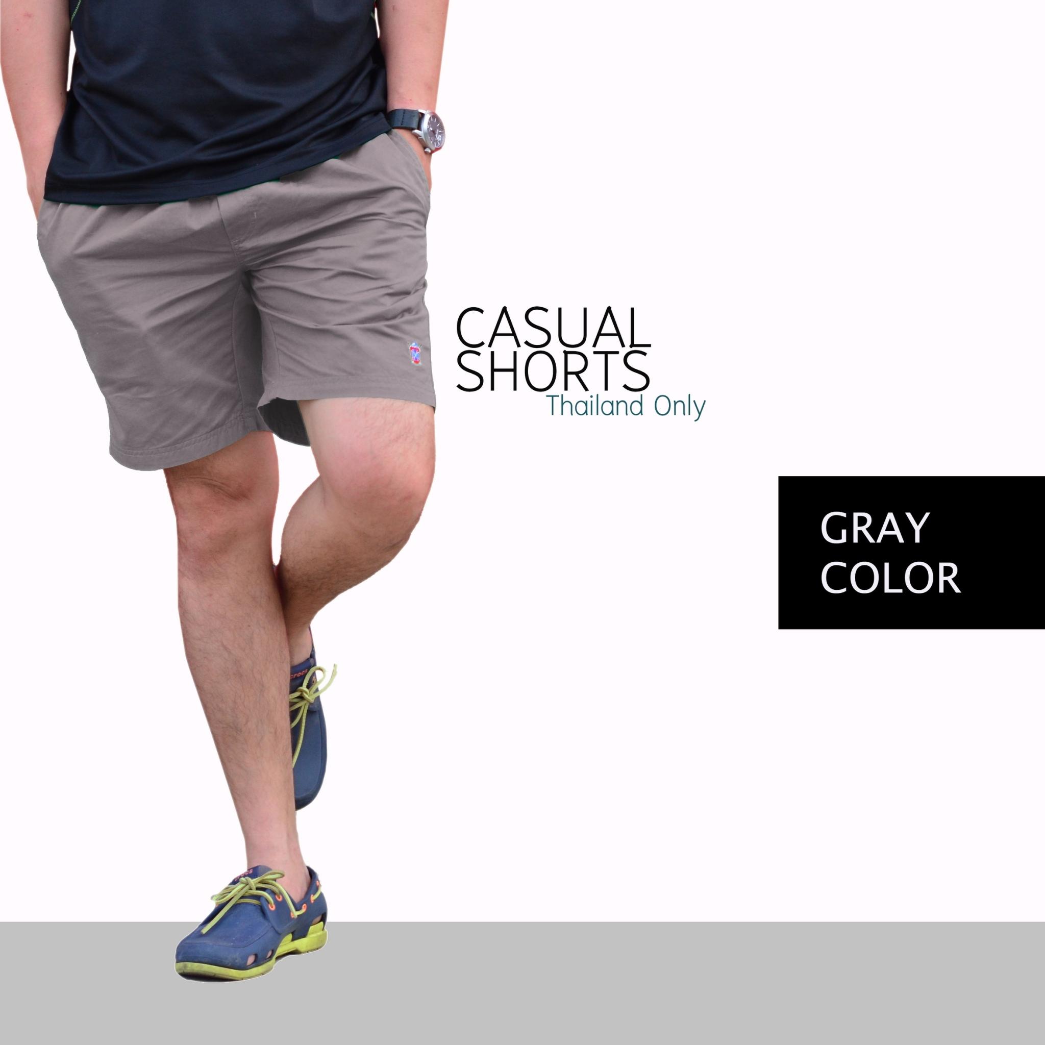 กางเกงขาสั้น BFactory (สีเทาเข้ม) - ไซส์ S