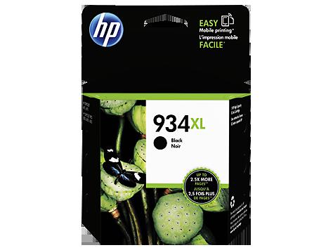 HP 934XL ตลับหมึกอิงค์เจ็ท สีดำ High Yield Black Original Ink Cartridge(C2P23AA)