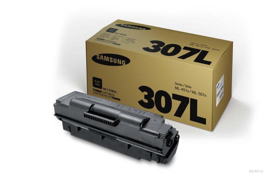 Samsung MLT-D307L ตลับหมึกโทนเนอร์ สีดำ ของแท้ Black Original Toner Cartridge (SV067A)