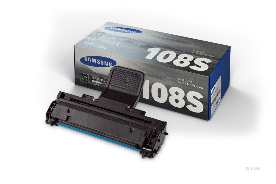 Samsung MLT-D108S ตลับหมึกโทนเนอร์ สีดำ ของแท้ Black Original Toner Cartridge (SU785A)