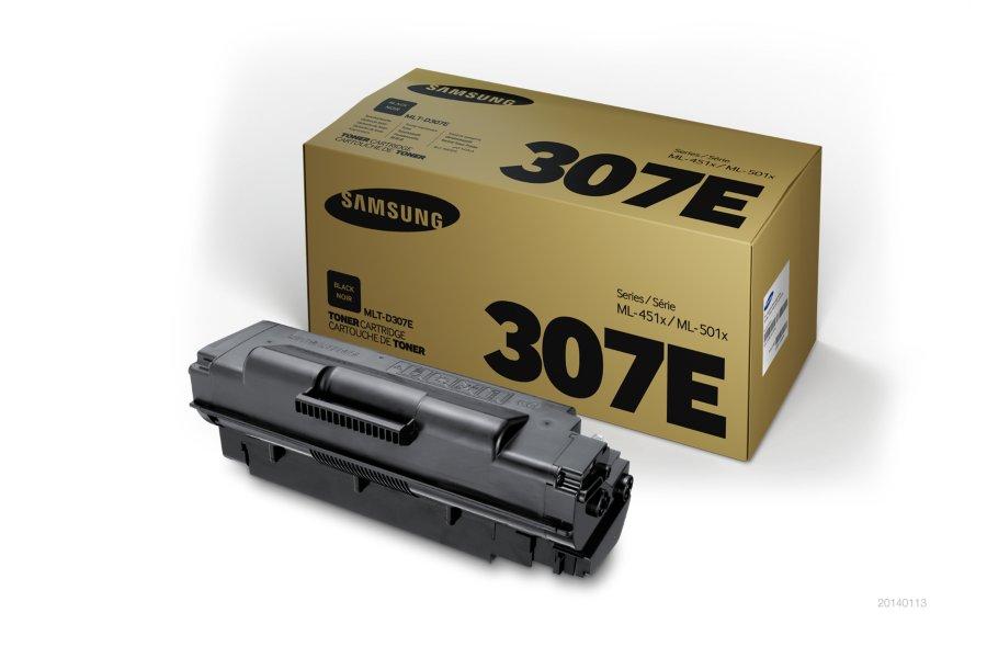 Samsung MLT-D307E ตลับหมึกโทนเนอร์ สีดำ ของแท้ Black Original Toner Cartridge (SV059A)