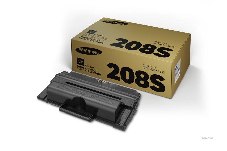 Samsung MLT-D208S ตลับหมึกโทนเนอร์ สีดำ ของแท้ Black Original Toner Cartridge (SU997A)