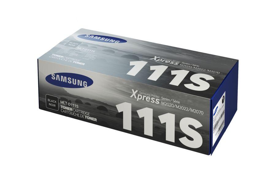 Samsung MLT-D111S ตลับหมึกโทนเนอร์ สีดำ ของแท้ Black Original Toner Cartridge (SU812A)