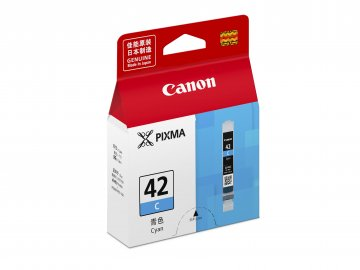 Canon CLI-42C ตลับหมึกอิงค์เจ็ท สีฟ้า Cyan Original Ink
