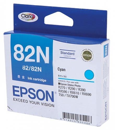 Epson T112290 (82N) หมึกพิมพ์อิงค์เจ็ต สีฟ้า