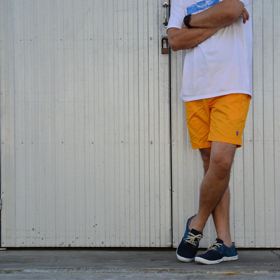 กางเกงขาสั้น BFactory (สีเหลือง)