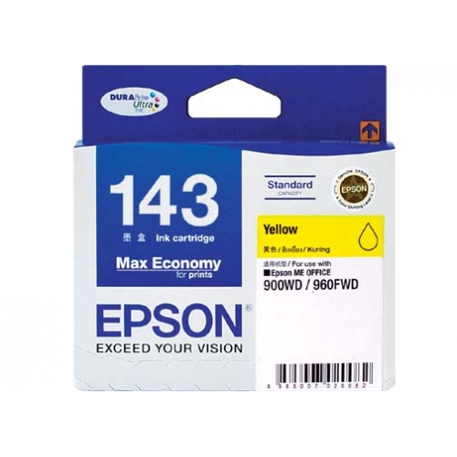 Epson T143490 หมึกพิมพ์อิงค์เจ็ต สีเหลือง Yellow Original Ink Cartridge