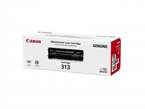 Canon Cartridge-313 ตลับหมึกโทนเนอร์ สีดำ Black Toner Original Cartridge