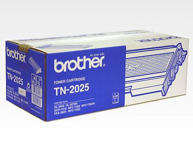 Brother TN-2025 ตลับหมึกโทนเนอร์ สีดำ ของแท้ Black original toner cartridge