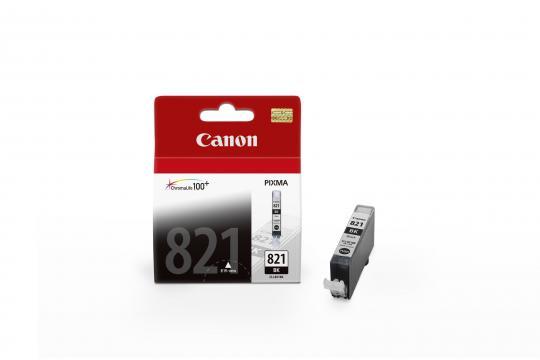 Canon CLI-821BK ตลับหมึกอิงค์เจ็ท สีดำ Black Original Ink