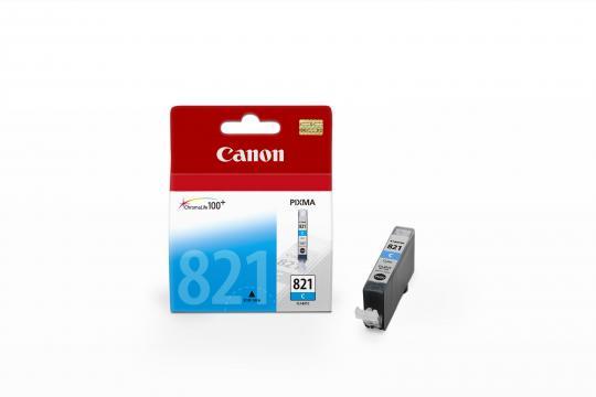 Canon CLI-821C ตลับหมึกอิงค์เจ็ท สีฟ้า Cyan Original Ink