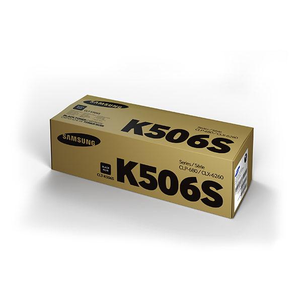 Samsung CLT-K506S ตลับหมึกโทนเนอร์ สีดำ Black Original Toner Cartridge (SU182A)