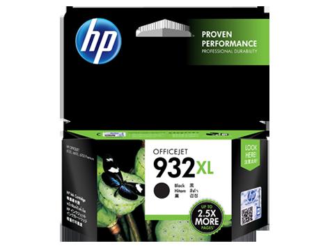 HP 932XL ตลับหมึกอิงค์เจ็ท สีดำ High Yield Black Original Ink Cartridge (CN053AA)