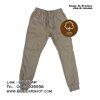 กางเกงขายาว กางเกงขาจั๊ม Jogger Pants (สีครีม)
