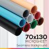 Microsheet 70 x 130 cm เลือกสี แผ่นไมโครชีทฉากหลังถ่ายภาพสินค้า