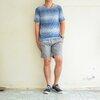 เสื้อยืด เสื้อกีฬา Micro - สีน้ำเงิน