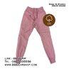 กางเกงขายาว กางเกงขาจั๊ม Jogger Pants (สีชมพู) - L, XL