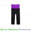 กางเกงโยคะ - สีม่วง Purple