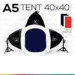 A5 TENT 40x40 ชุดไฟสตูดิโอถ่ายภาพขั้นเทพ ประหยัด ถ่ายภาพนาฬิกา ถ่ายภาพแว่นตา ถ่ายภาพเข็มขัด ถ่ายภาพเครื่องสำอางขนาดเล็ก ถ่ายภาพแหวนเพชร สร้อยข้อมือ