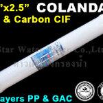 """ไส้กรอง 2 ชั้น CIF 20"""" x 2.5"""" Colandas"""