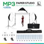 MP3 PAPER BACKDROP 2x11 m ชุดสตูดิโอฉากหลังกระดาษถ่ายภาพขนาด 2x11 เมตร