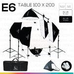 E6 STUDIO TABLE PACKSHOT โต๊ะถ่ายภาพสินค้าปรับองศา 100x200 ซม.