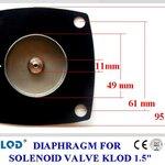 ยาง Diaphragm solenoid KLOD 1.5 นิ้ว