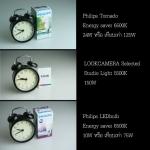 ความแตกต่างระหว่างหลอดไฟทั่วไป กับ หลอดไฟสำหรับถ่ายภาพสินค้า LOOKCAMERA