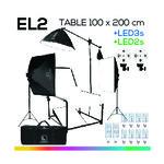 EL2 TABLE 100x200 โต๊ะถ่ายภาพสินค้าปรับองศาได้ ถอดประกอบได้